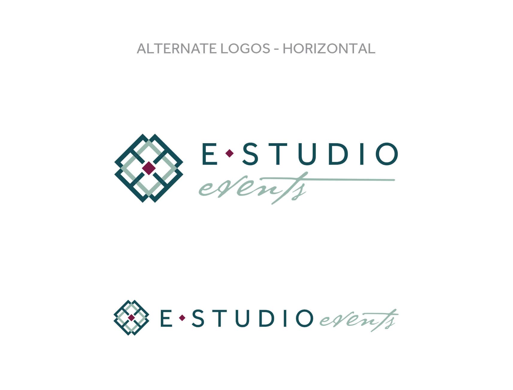 E Studio Events Secondary Logo