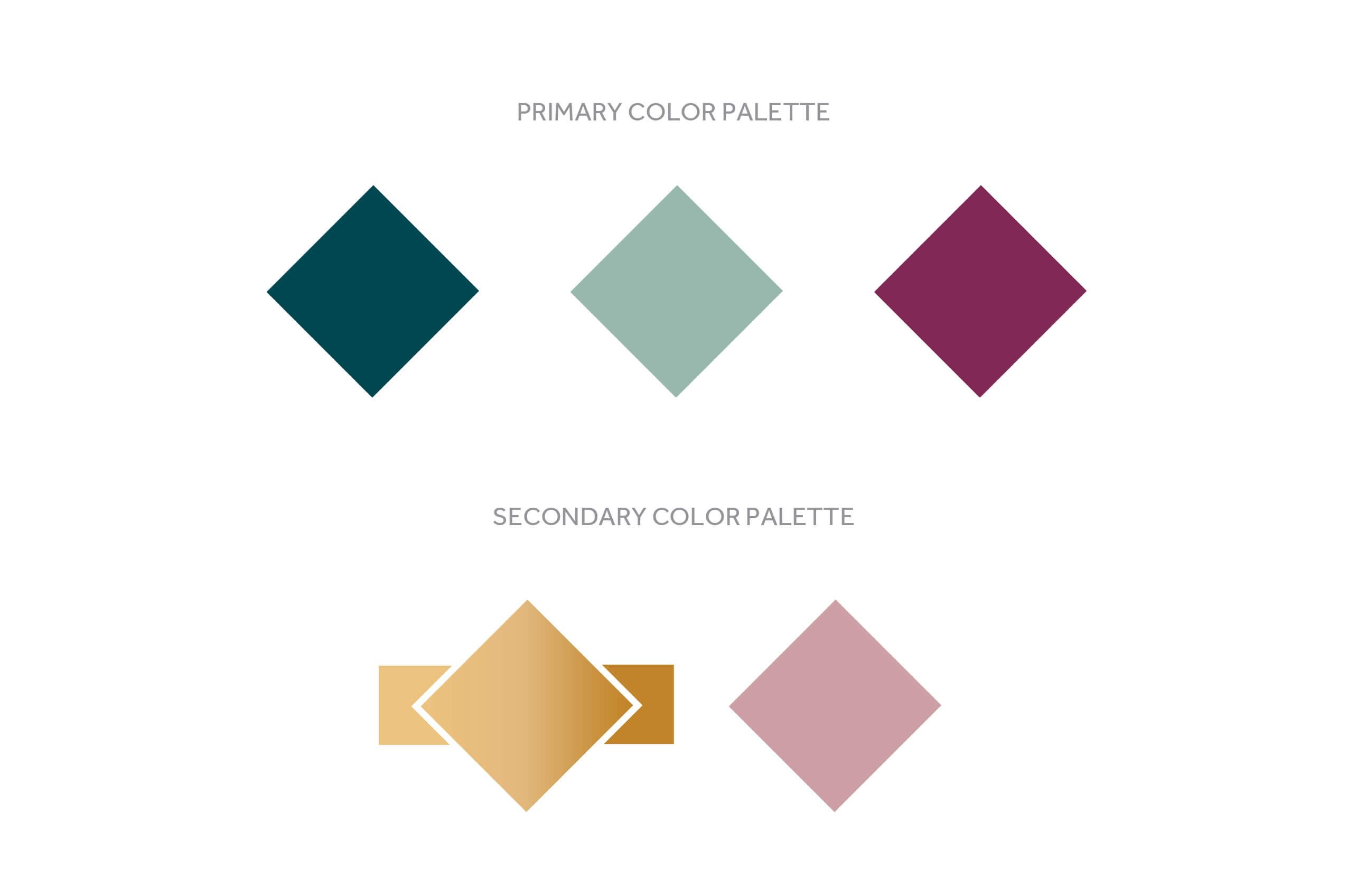 E Studio Events Color Palette
