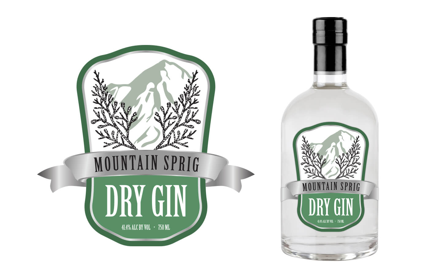 Mountain Sprig Gin